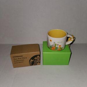 Starbucks You Are Here Dallas 2oz Espresso mug